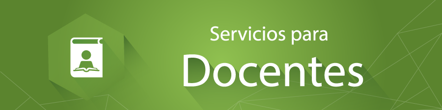 Servicios para docentes for Docentes exterior